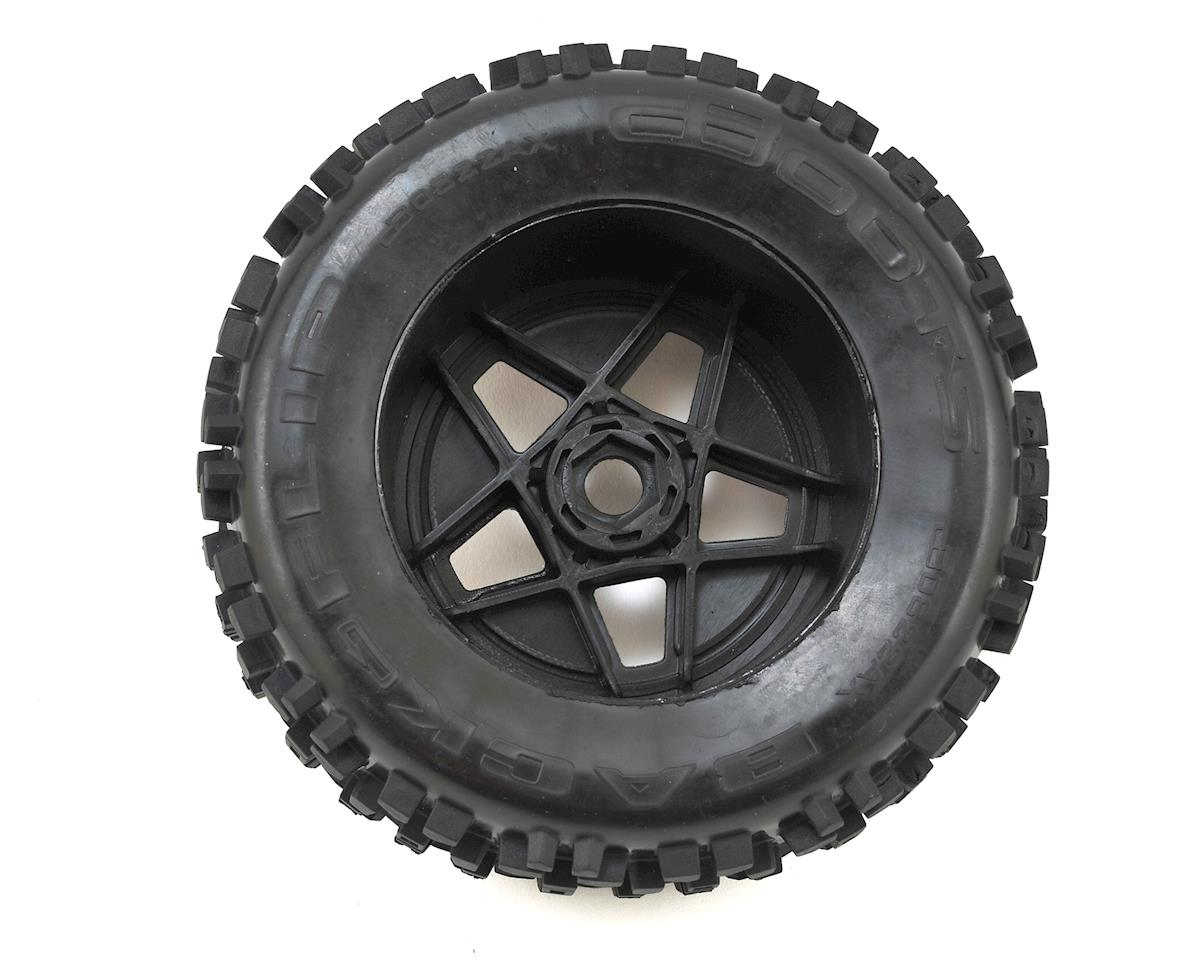 Arrma Dboots 'Back-Flip Mt 6S' Pre-Mounted Tires (Black) (2)