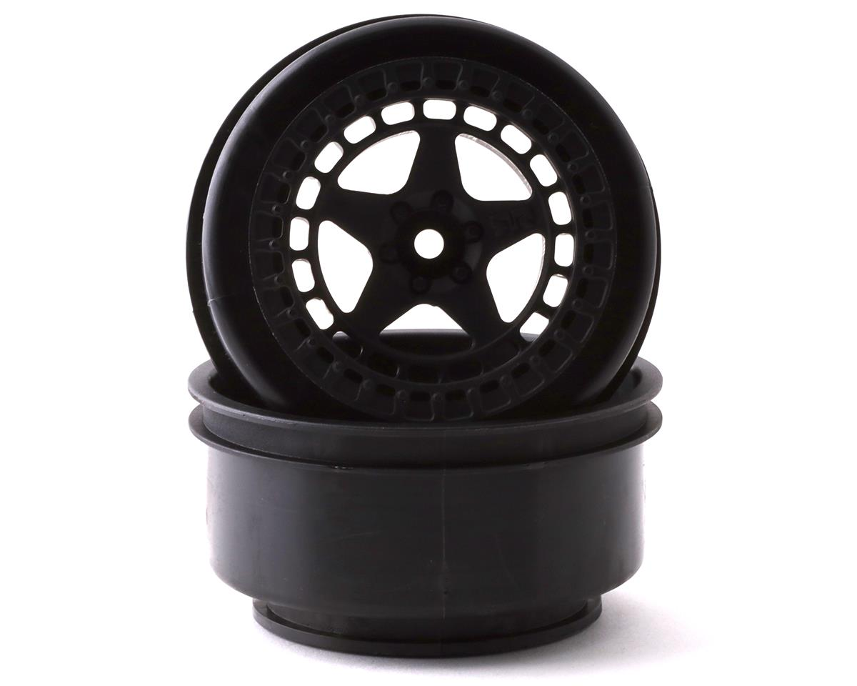 Arrma AR510096 SC 2.2/3.0 Wheel 14mm Hex Black (2)