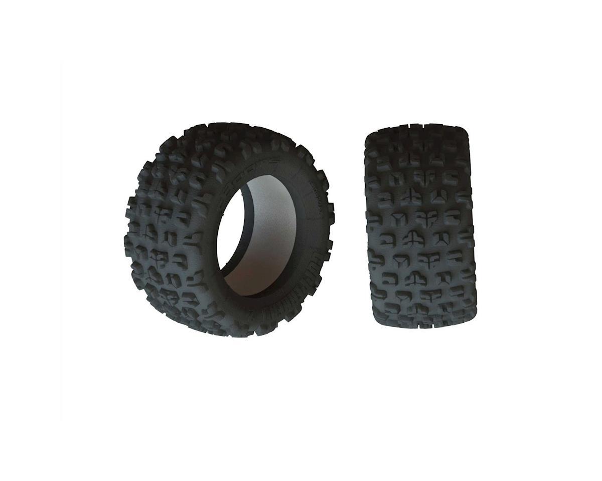 """Arrma Kraton 8S BLX Dboots """"Copperhead2 SB MT"""" Tire & Inserts (2)"""