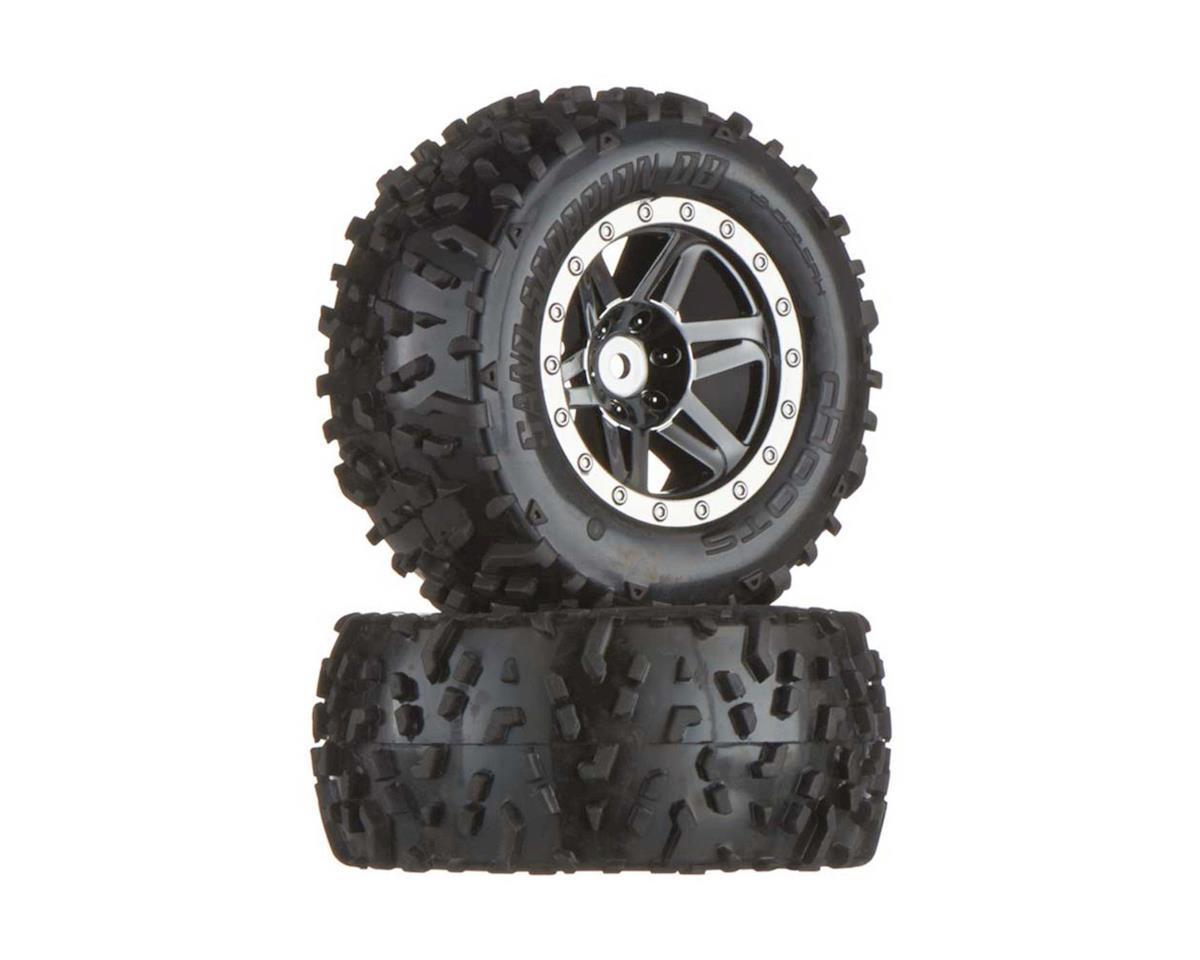 Arrma AR550002 Dboots Sand Scorpion XL Rear Black/Chrome