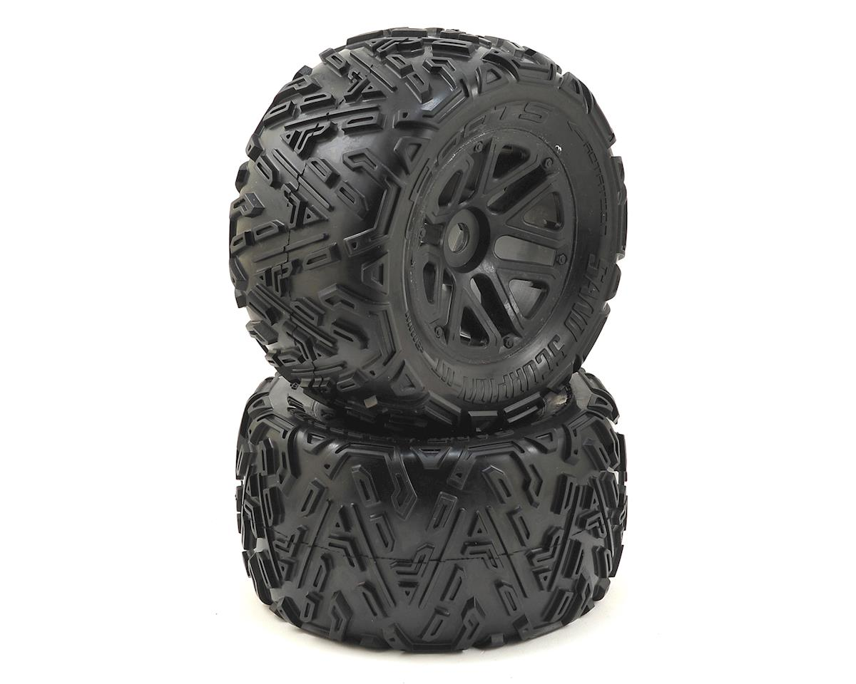Dboots 'Sand Scorpion Mt 6S' Pre-Mounted Tires (Black) (2) by Arrma