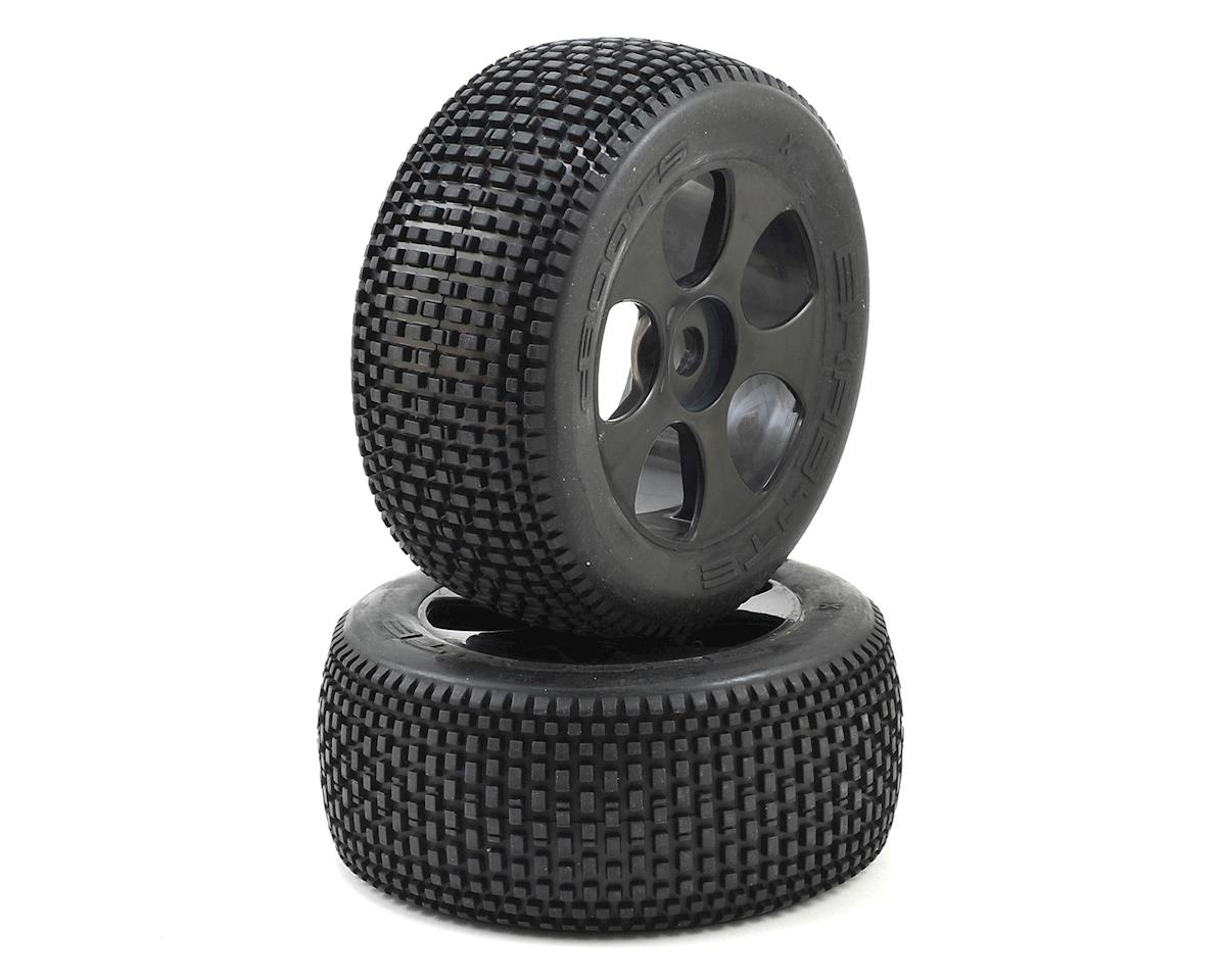 Arrma 17mm Hex Dboots 'Exabyte T 6S' Pre-Mounted Tire (Black) (2)
