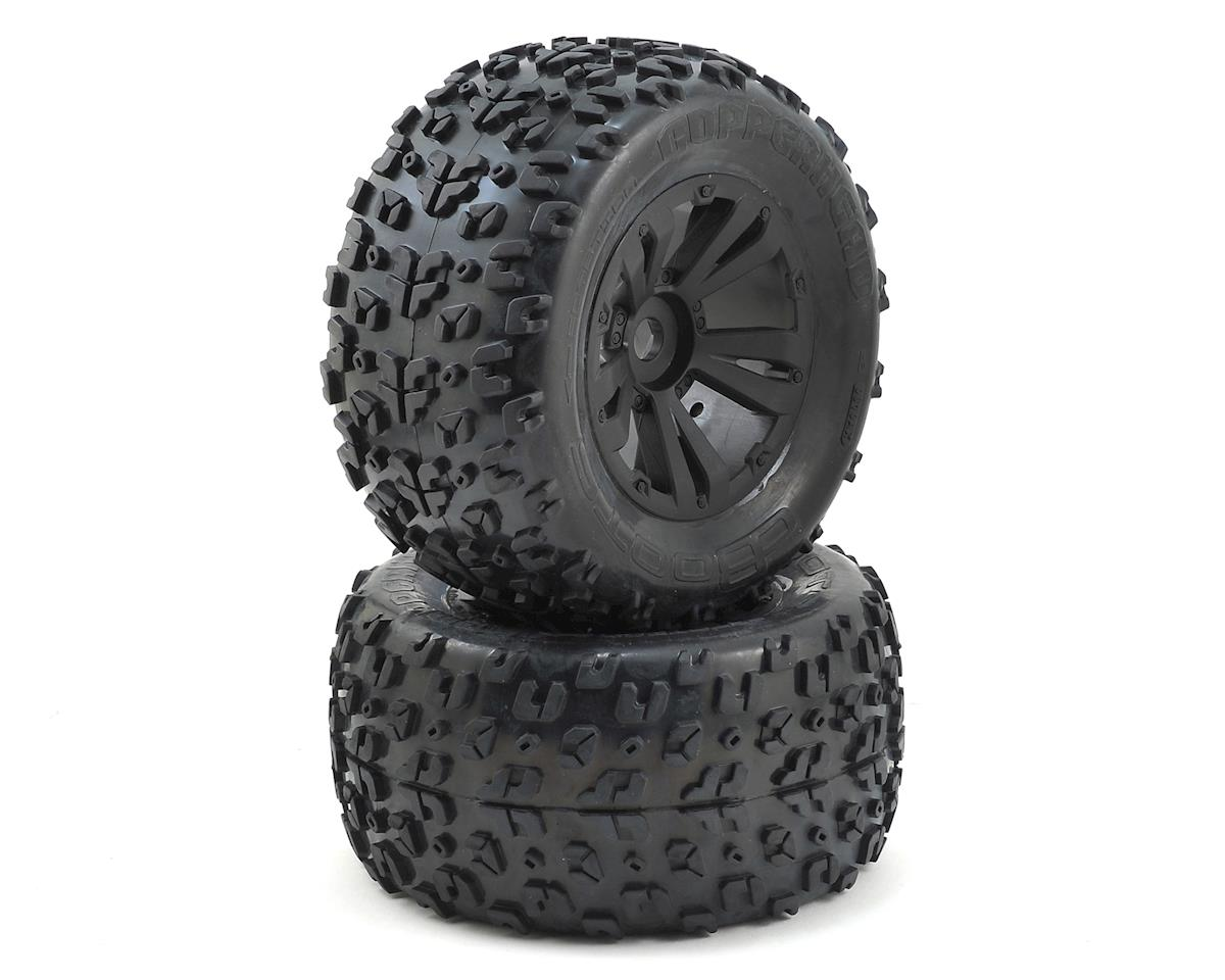 17mm Hex Dboots 'Copperhead MT 6S' Pre-Mounted Tire (Black) (2) by Arrma
