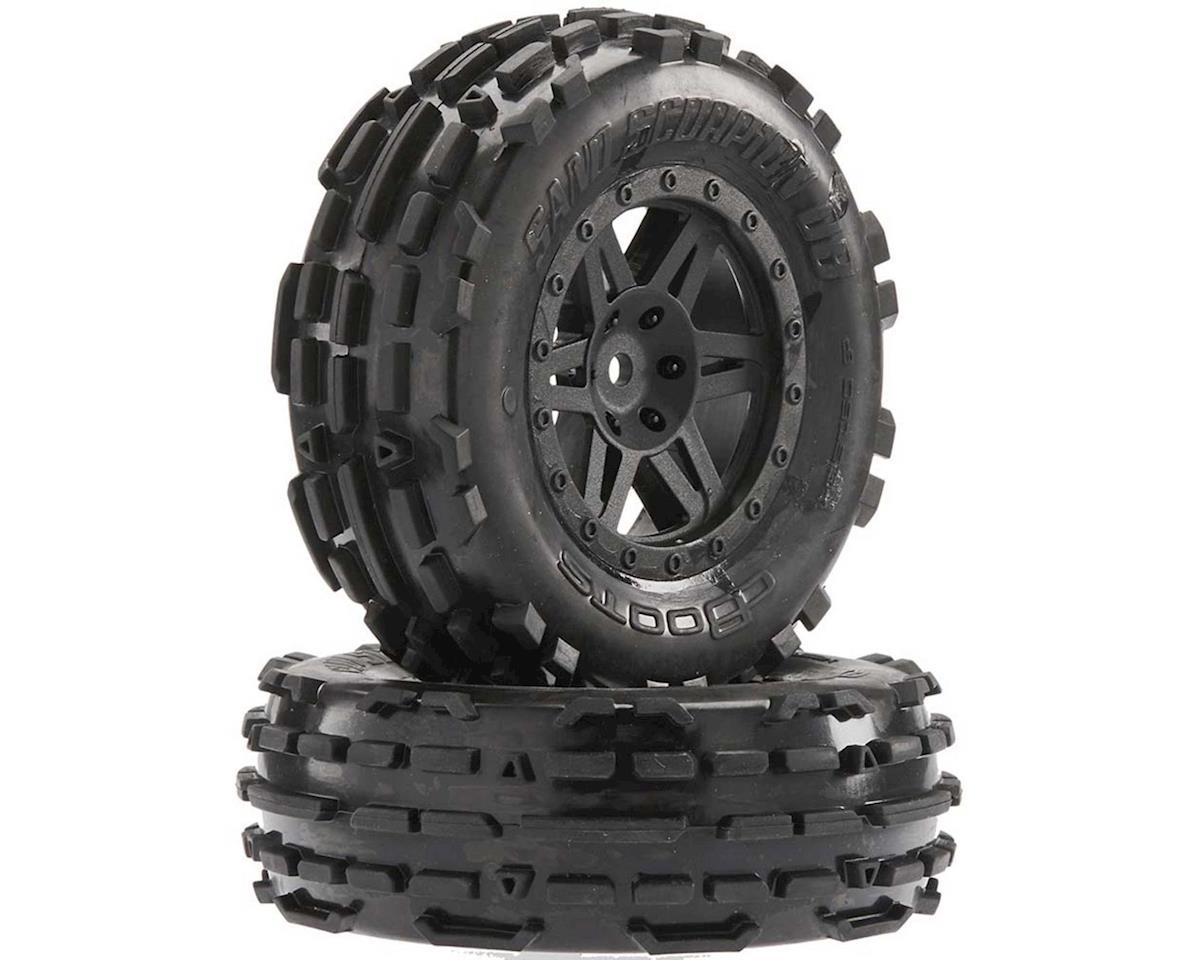 Arrma Sand Scorpion DB XL Tire/Wheel Glue Blk Fr (2)