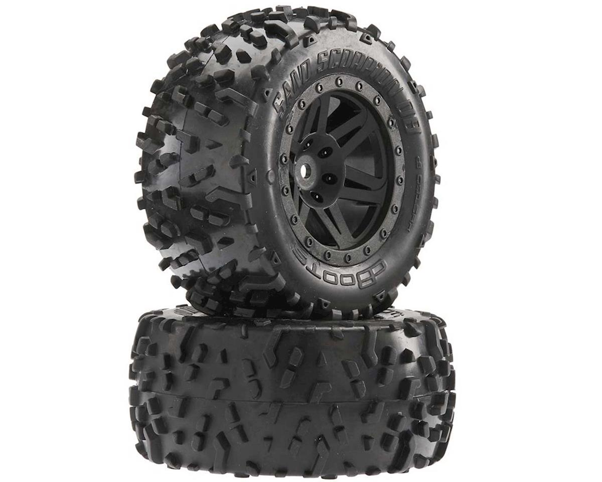 Sand Scorpion DB XL Tire/Wheel Glue Blk Re (2) by Arrma