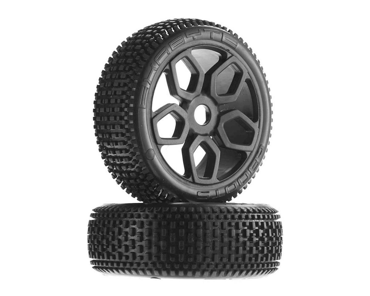 AR550027 Exabyte NB Buggy Tire Set Pre-glued by Arrma