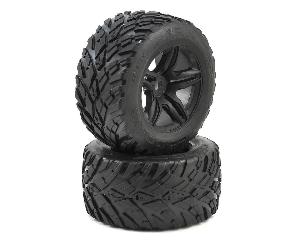 Arrma 17mm Hex Dboots 'Pincer' Pre-Mounted Tires (Black) (2)