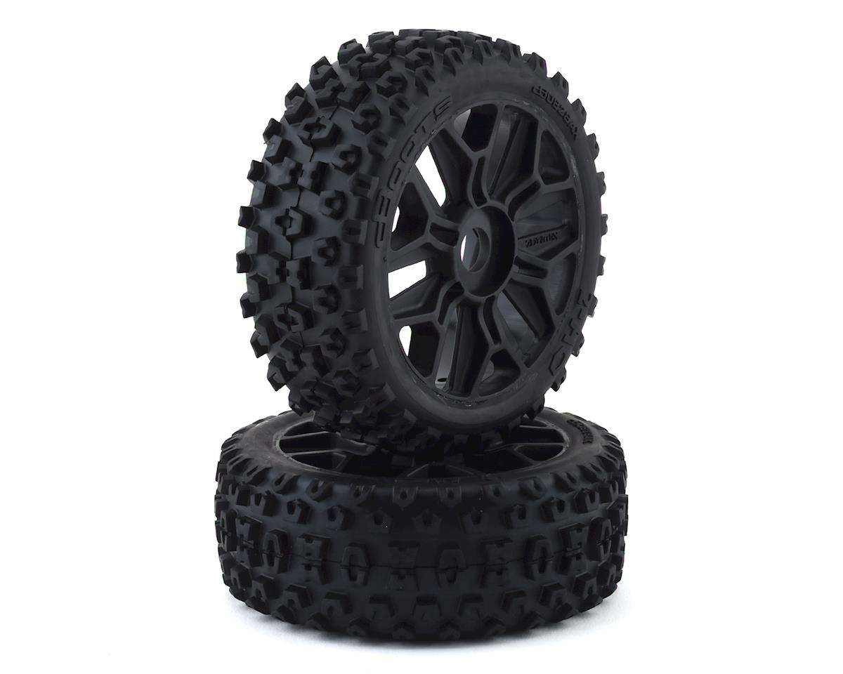 Arrma Typhon 4X4 550 2HO Pre-Mounted Tires (2)
