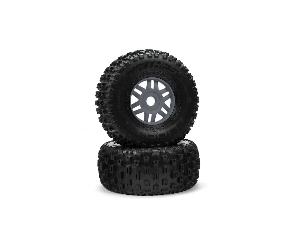 "Arrma Mojave 6S BLX dBoots ""Fortress"" Pre-Mounted Tire Set (Gun Metal) (2)"