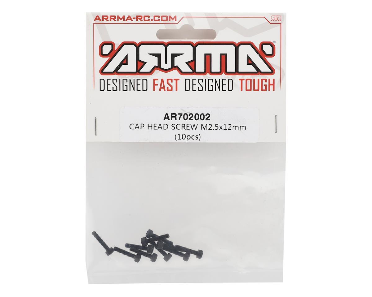 Arrma M2.5X12mm Cap Head Screw (10)