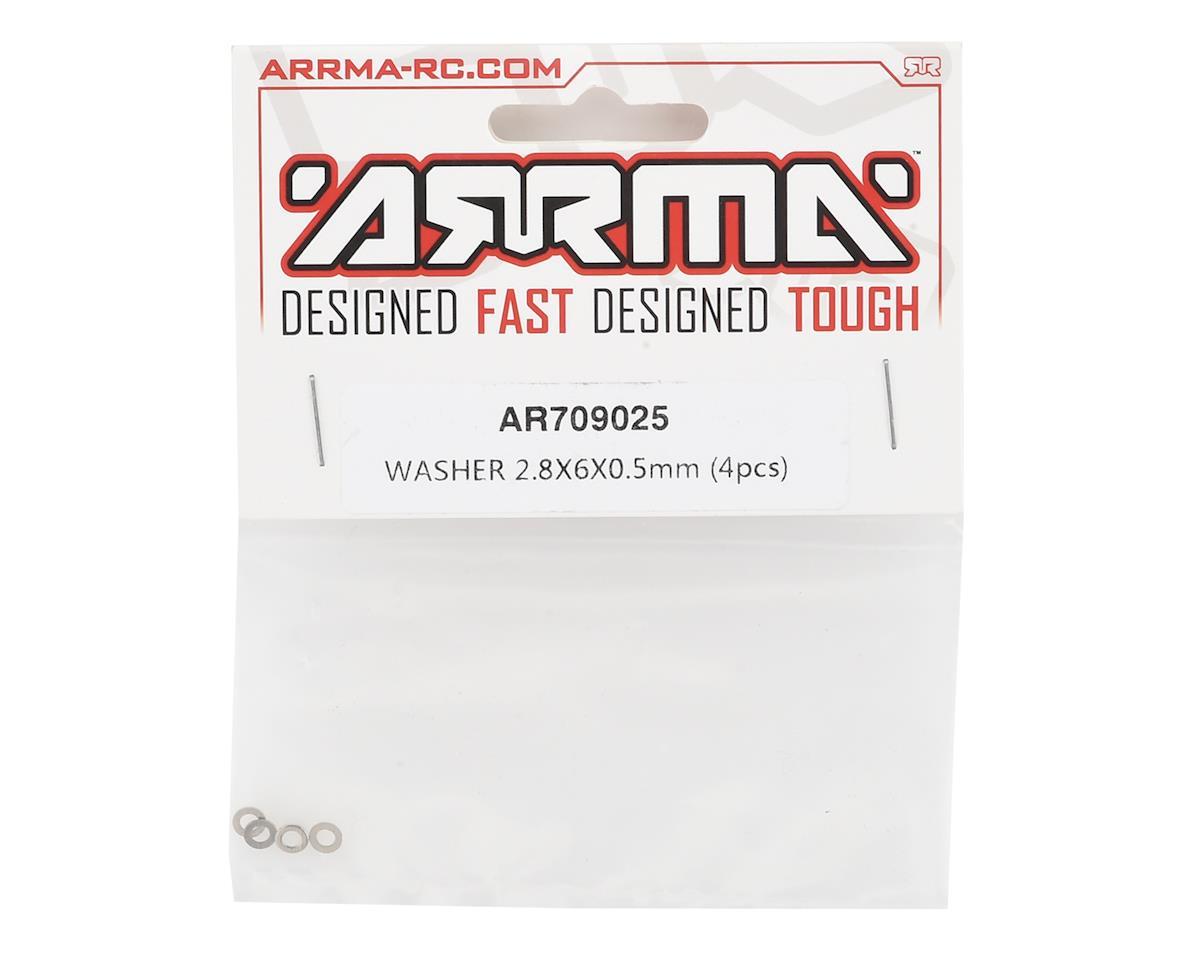 Arrma Washer 2.8x6x0.5mm (4)