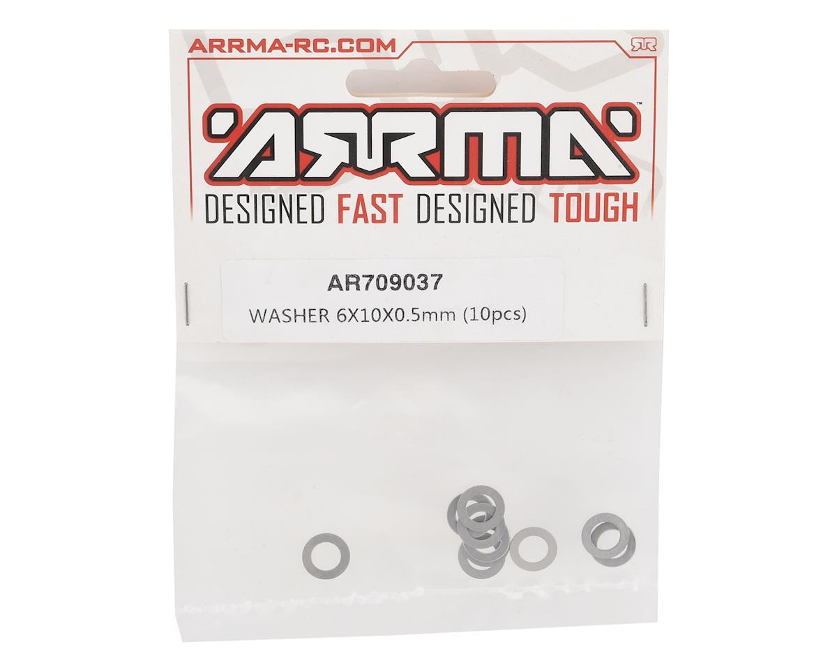 Arrma 6x10x0.5mm Washer (10)