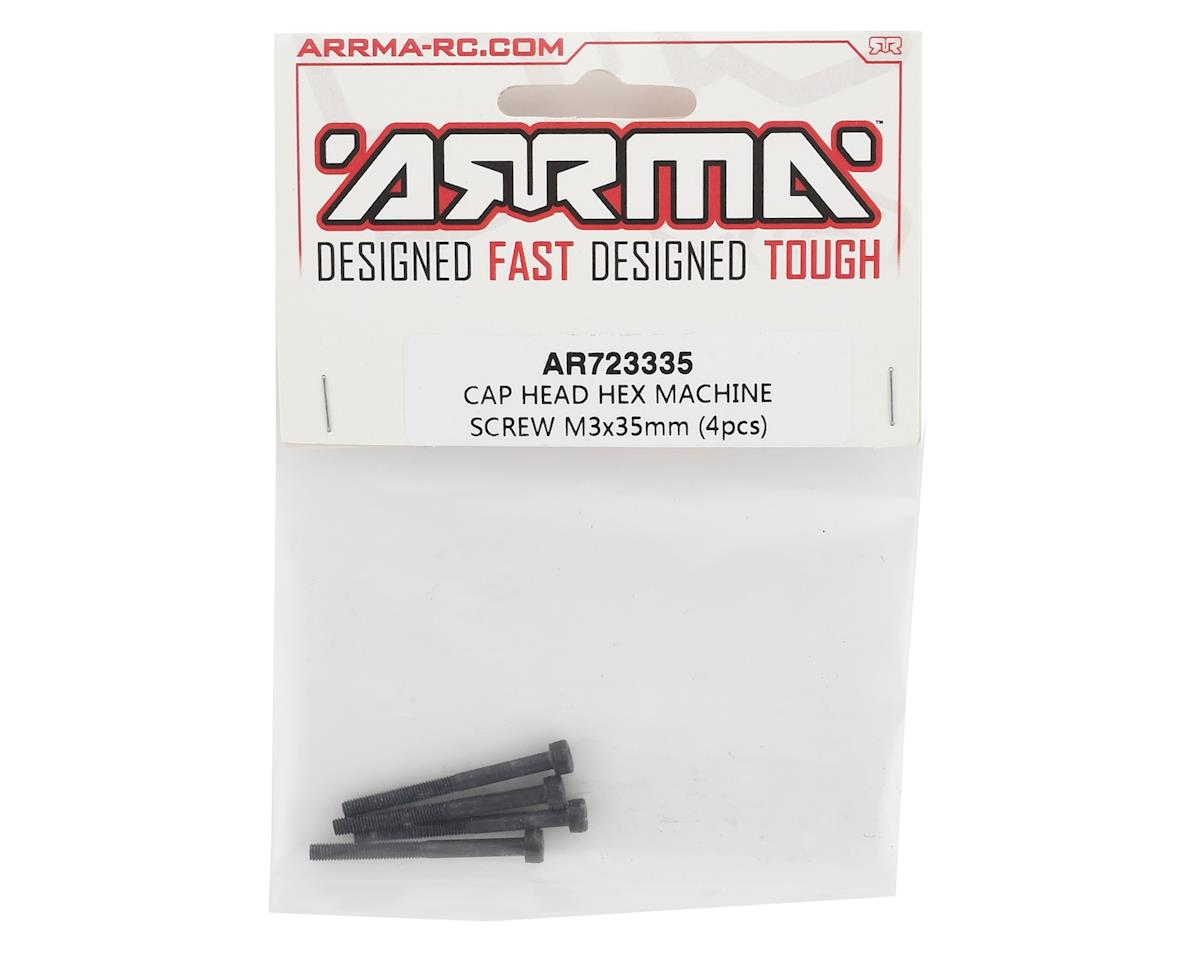 Arrma 3x35mm Cap Head Hex Screw (4)
