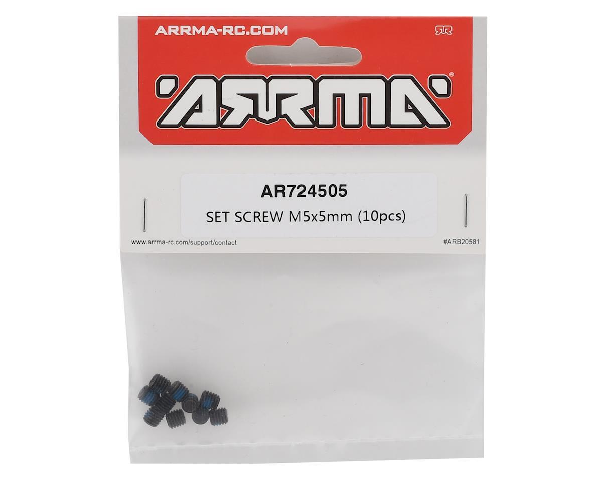 Arrma 5x5mm Set Screw Set (10)