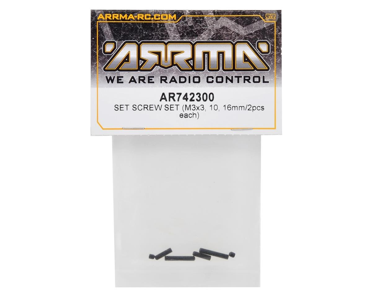 Arrma Set Screw Assortment (6)