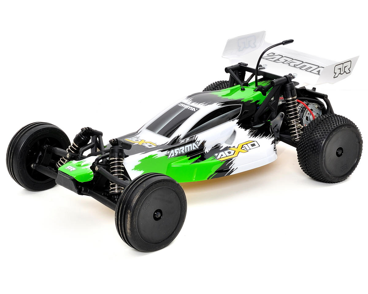 Arrma ADX-10 1/10 Electric RTR 2wd Buggy w/ATX300 2.4GHz, Battery & Charger (Green)