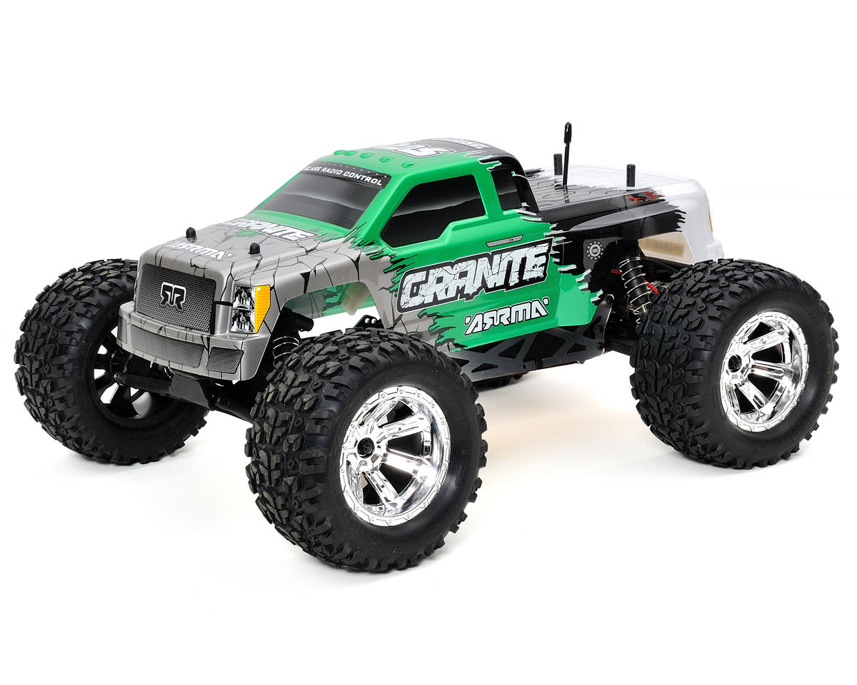 Arrma Granite 1/10 Electric RTR Monster Truck w/ATX300 2.4GHz, Battery & Charger (Green)