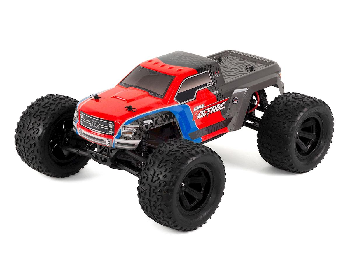 Granite Voltage Mega 1/10 RTR Monster Truck (Red/Black)