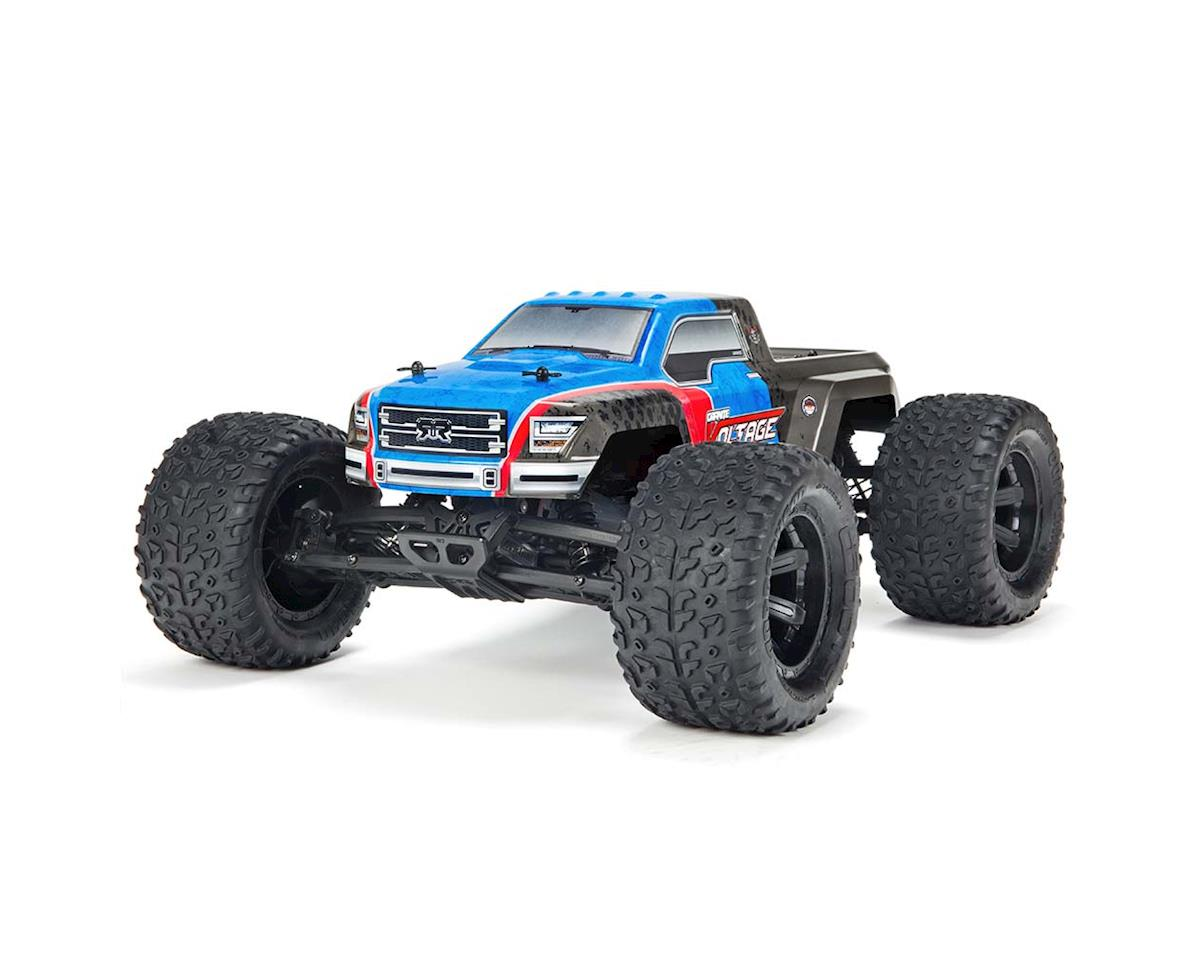 Arrma Granite Voltage Mega SRS 1/10 RTR Monster Truck (Blue/Black)
