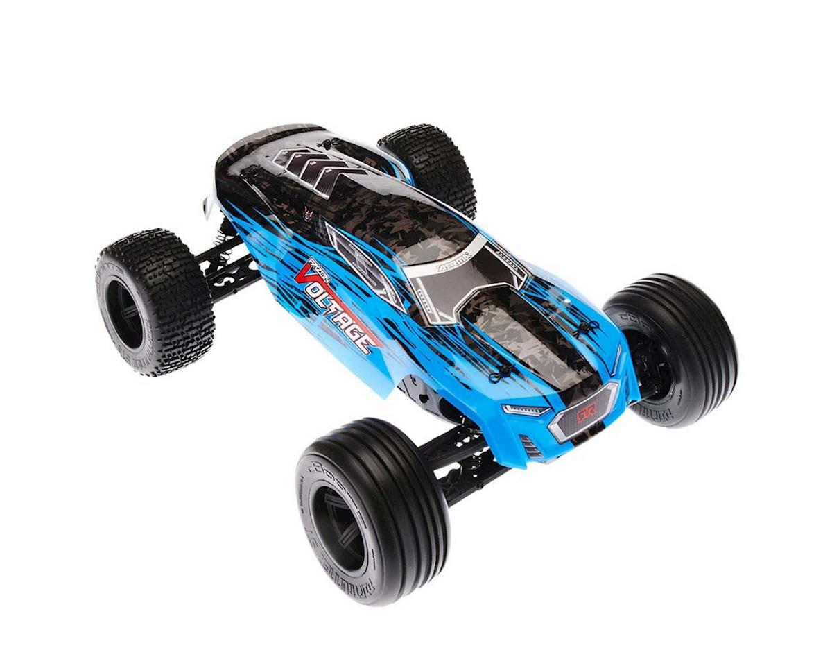 Arrma Fazon Voltage Mega 1/10 RTR Stadium Truck (Blue/Black)