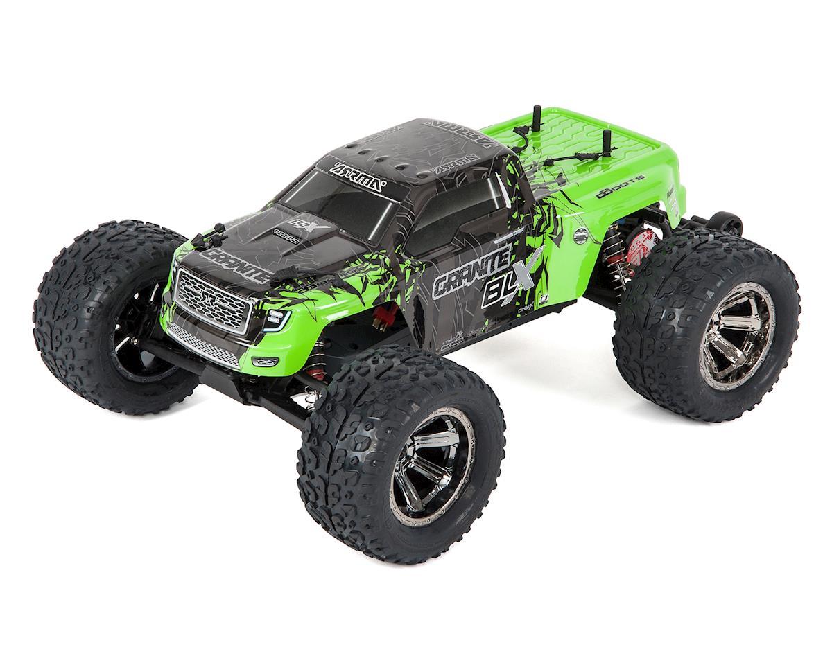Arrma Granite BLX Brushless 1/10 RTR 2WD Monster Truck (Green/Black)