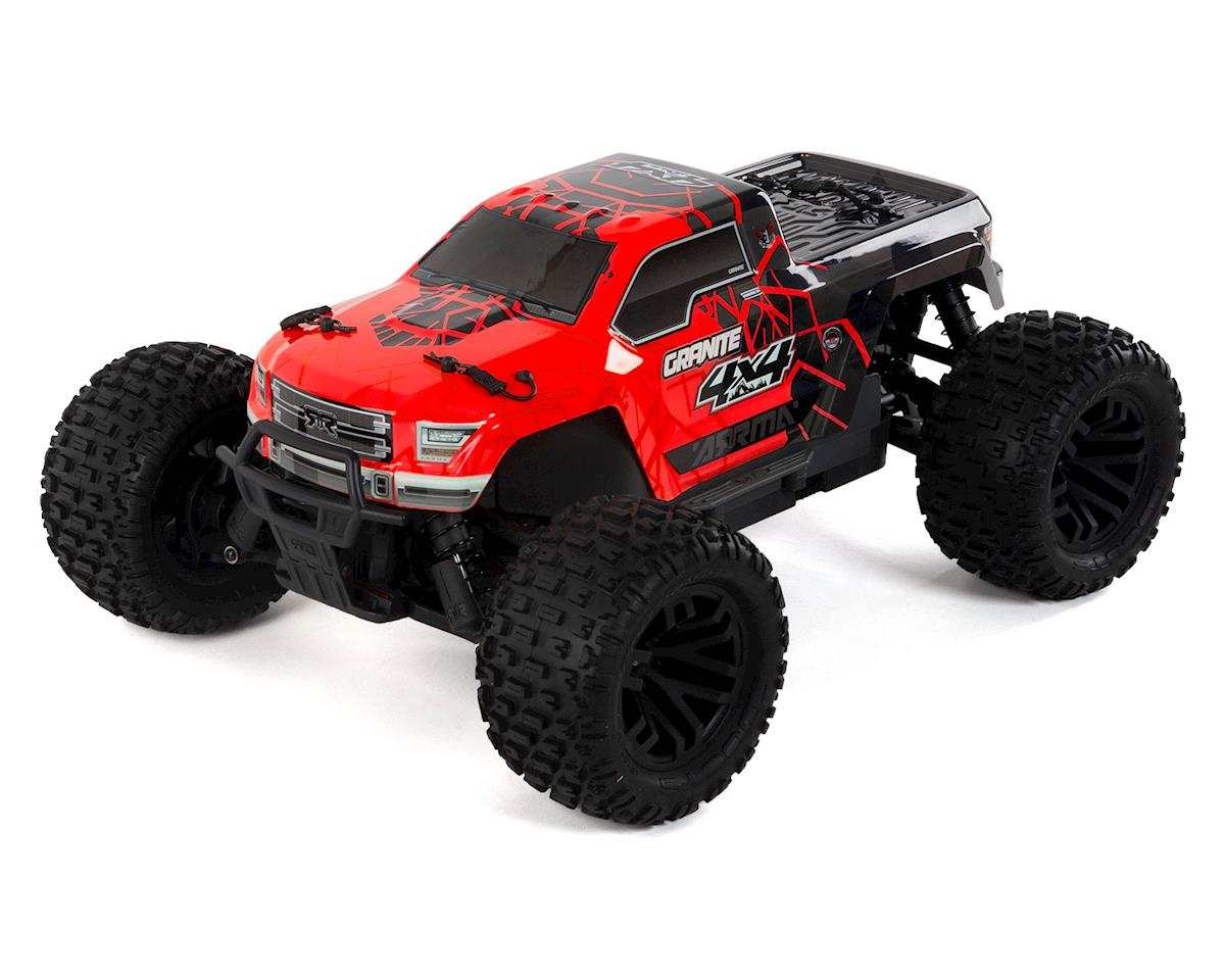 Granite 4x4 Mega Monster Truck RTR (Red/Black)