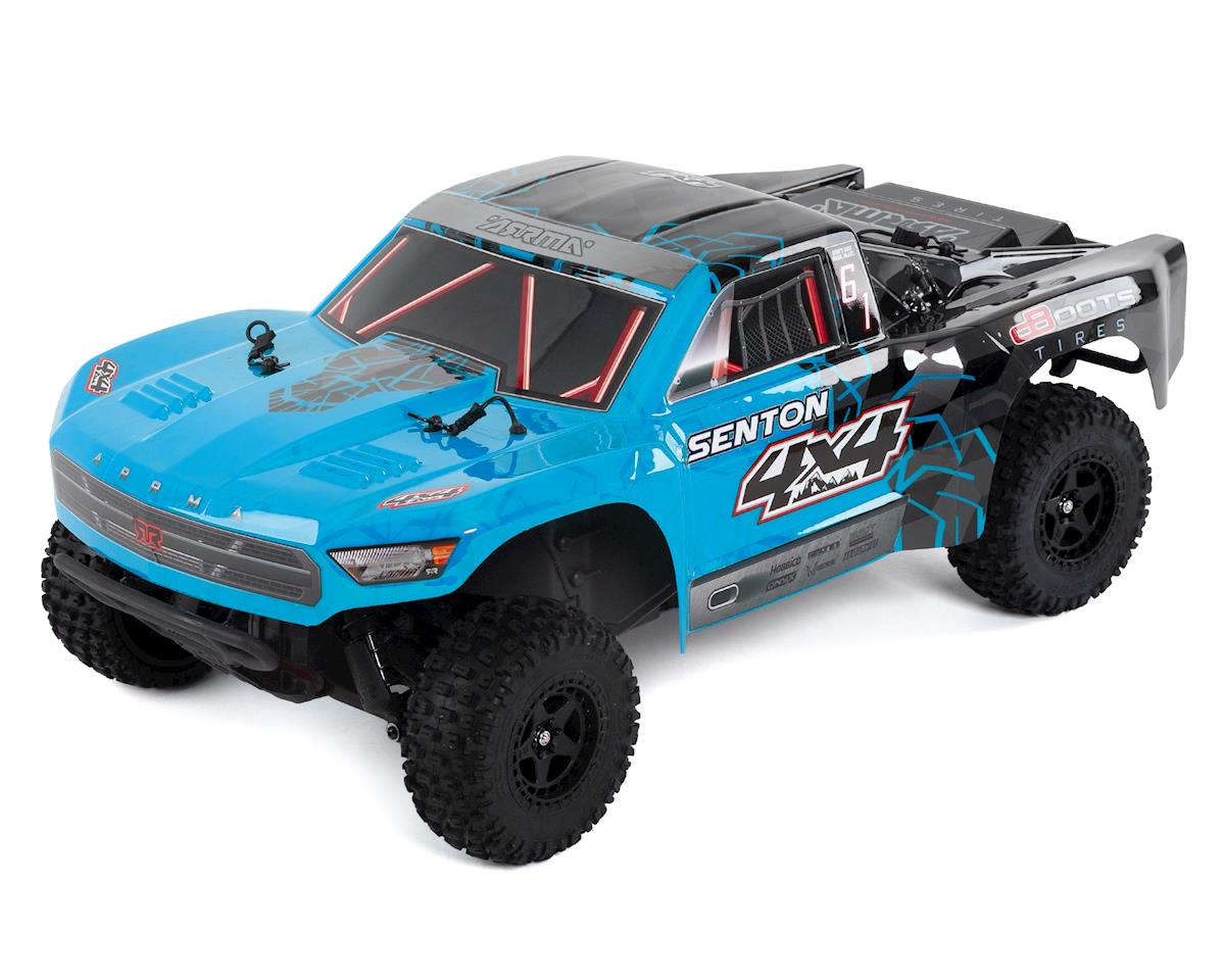 Senton 4x4 Mega RTR 1/10 Short Course Truck (Blue/Black) by Arrma