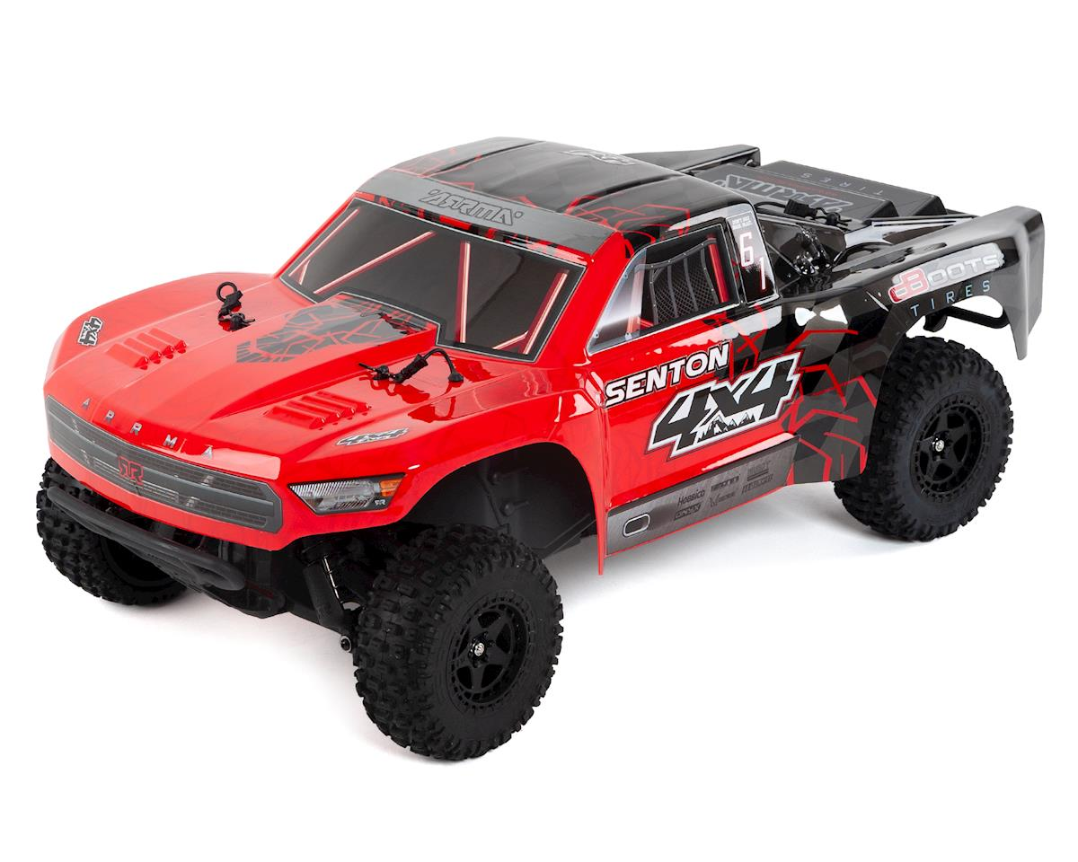 Arrma Senton 4x4 Mega RTR 1/10 Short Course Truck (Red/Black)