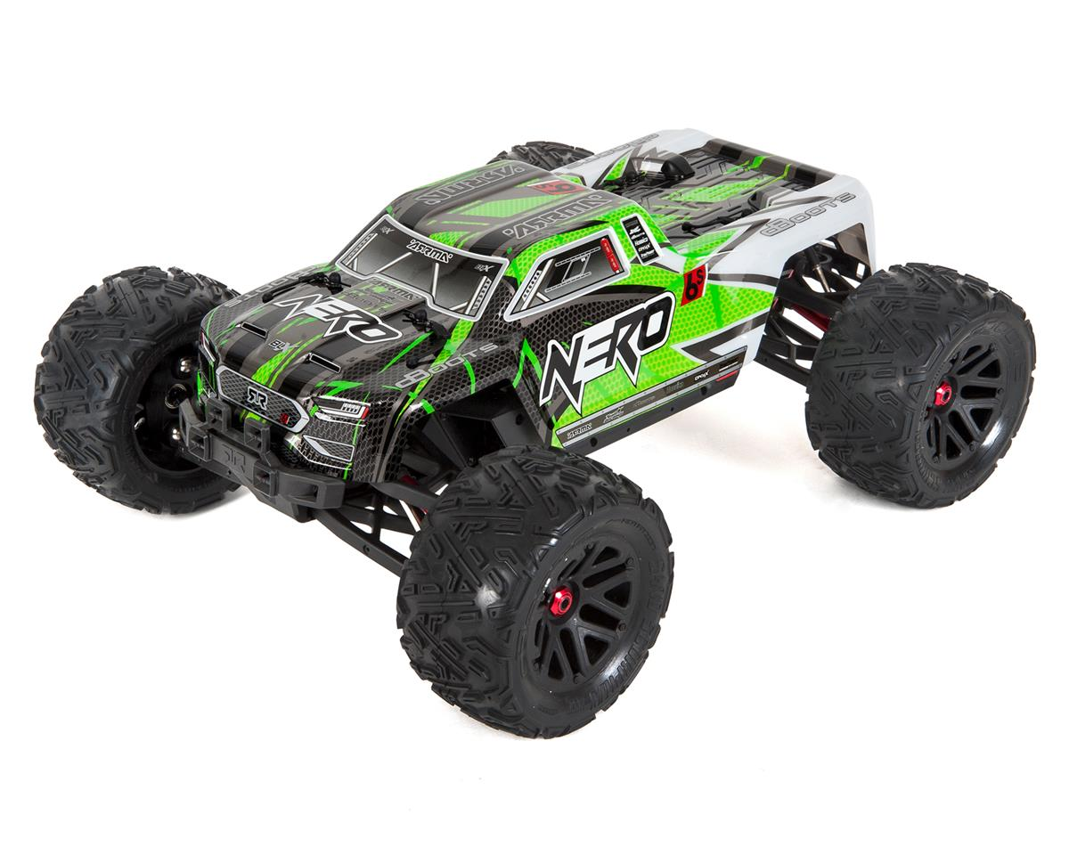 Arrma Nero 6S BLX Brushless RTR Monster Truck (Green/Black)