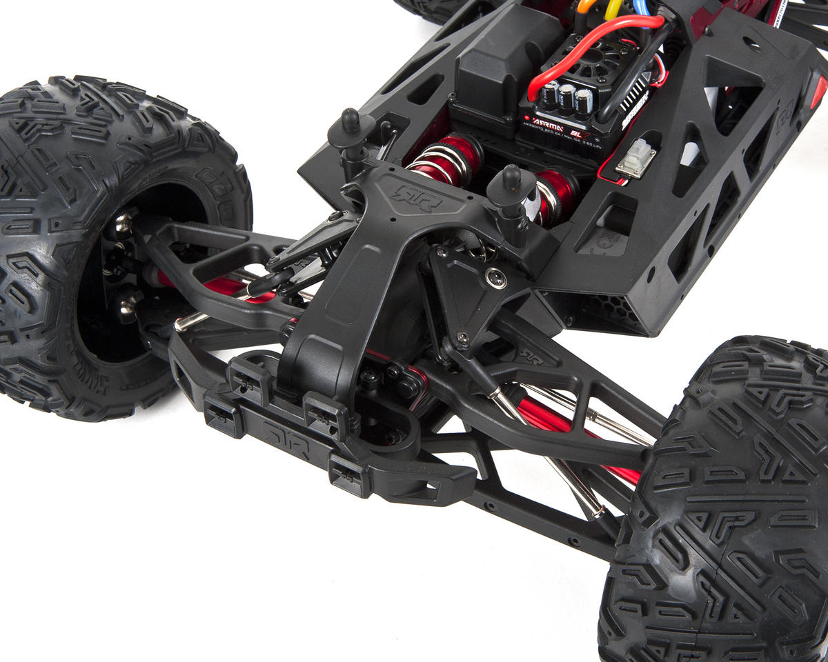 Arrma Nero 6S BLX Brushless RTR Monster Truck w/Diff Brain (Blue/Black)