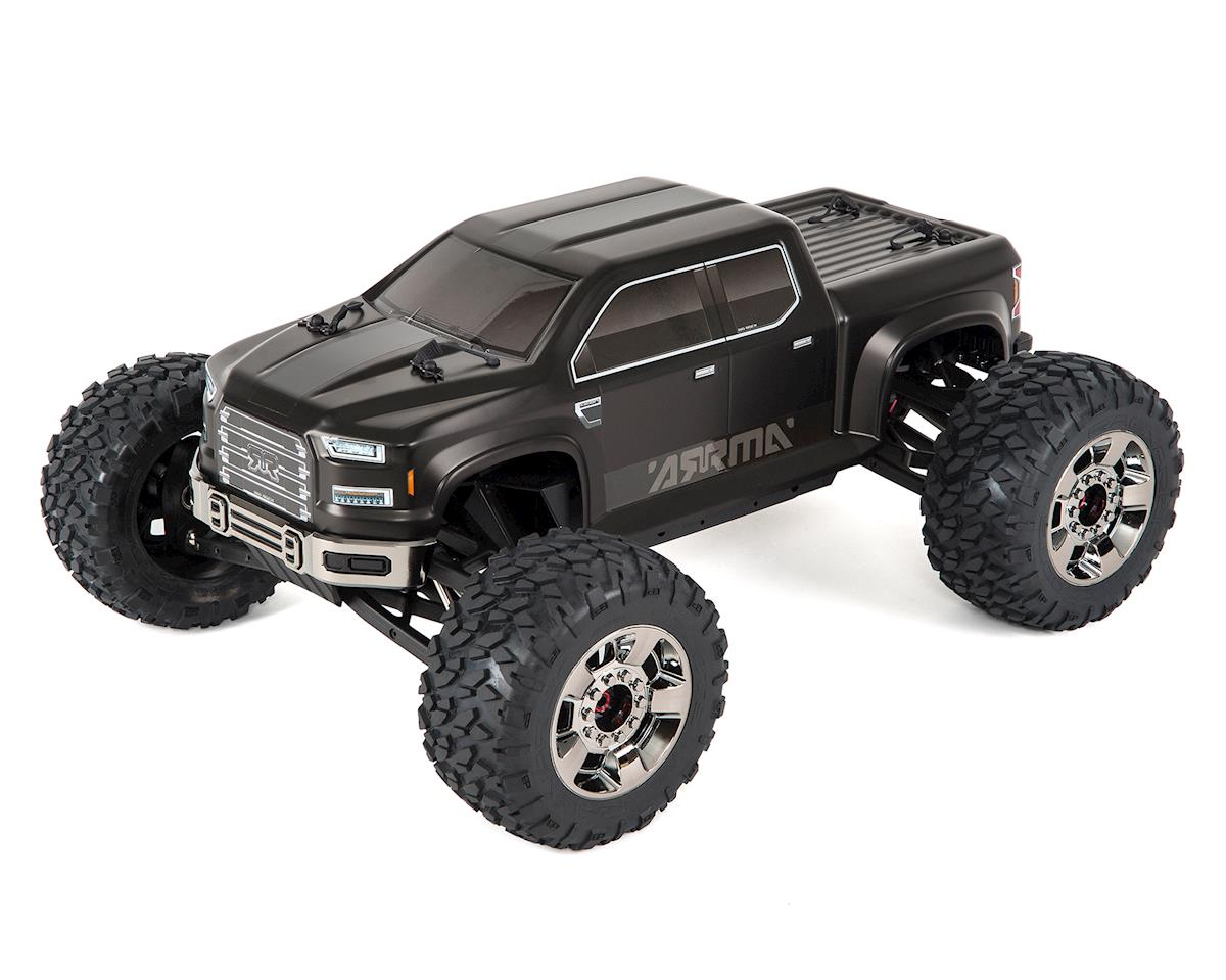 Arrma Nero Big Rock 6S BLX Brushless RTR Monster Truck w/Diff Brain (Black)