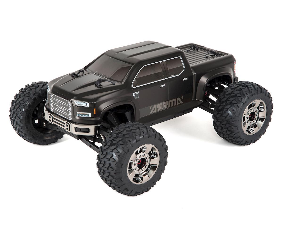 Arrma Nero Big Rock 6S BLX Brushless RTR Monster Truck w/Diff Brain (Black)
