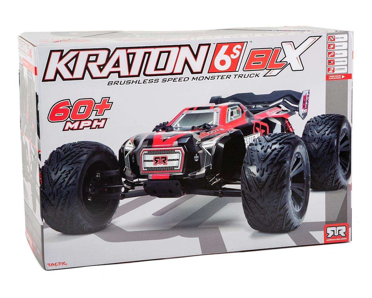 Arrma Kraton 6S BLX Brushless RTR 1/8 Monster Truck (Green/Black)