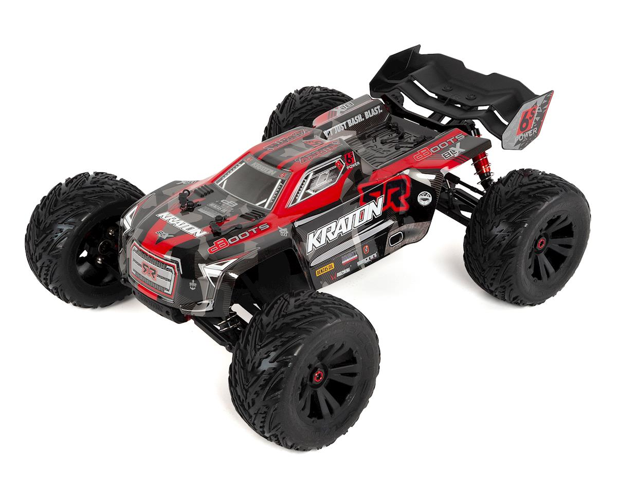 Kraton 6S BLX Brushless RTR 1/8 Monster Truck (Red/Black)