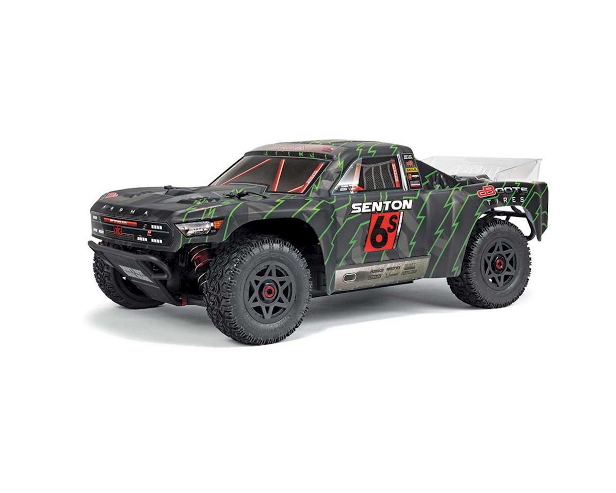 Arrma Senton 6S BLX Brushless RTR 1/10 4WD Short Course Truck (Green/Black)  w/TTX300 2 4GHz Radio
