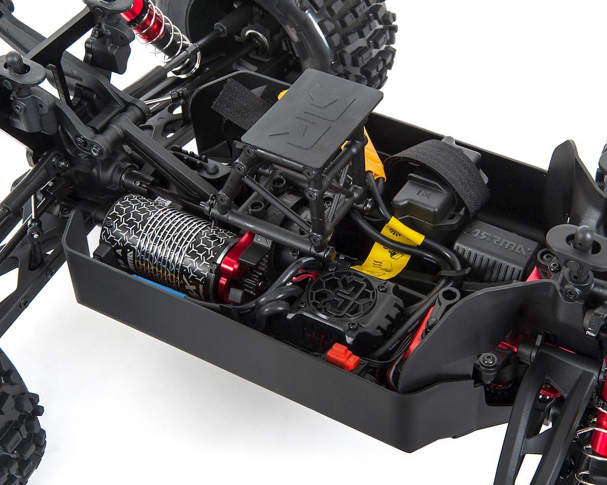 Arrma Outcast 6S BLX Brushless RTR Monster Stunt Truck (Orange)