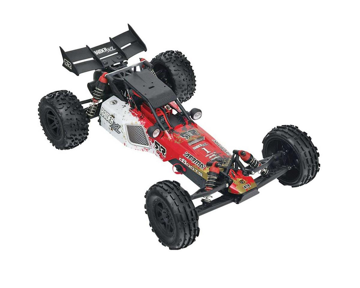 Raider XL MEGA Brushed 1/8 RTR Desert Buggy (Red/White) by Arrma