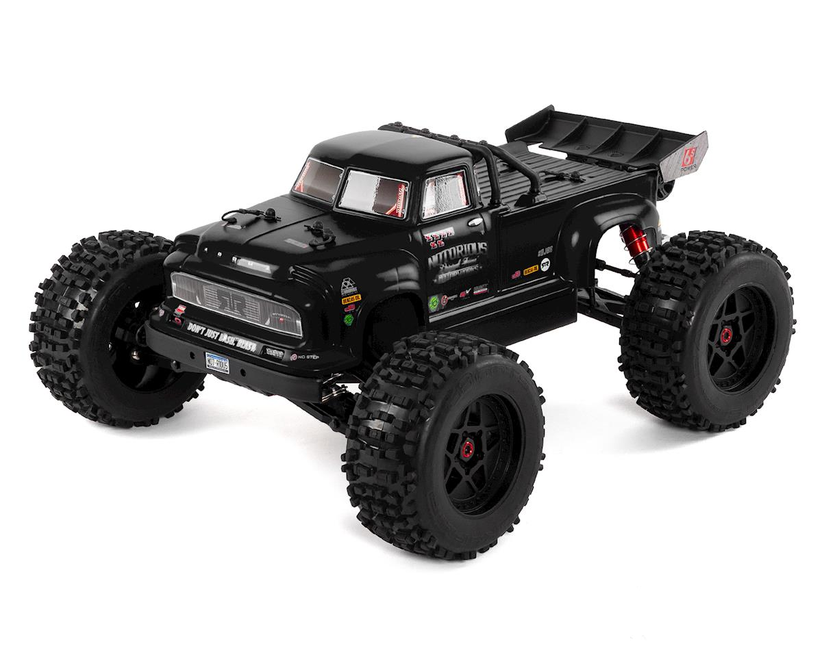 Notorious 6S Classic BLX Brushless RTR 1/8 Monster Stunt Truck (Black)