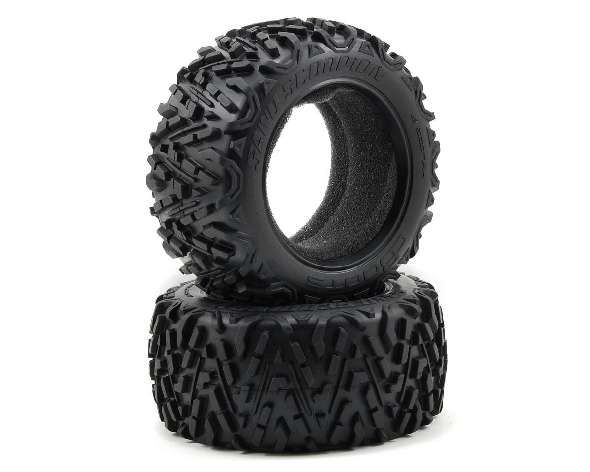Arrma dBoots Sand Scorpion Front/Rear Truck Tire (2) (Mojave)
