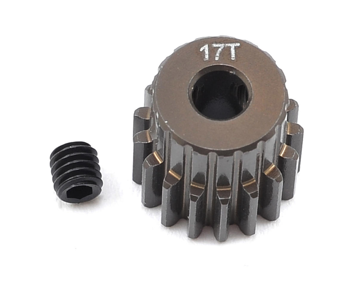 Team Associated RC10 B4.1 Factory Aluminum 48P Pinion Gear (3.17mm Bore)