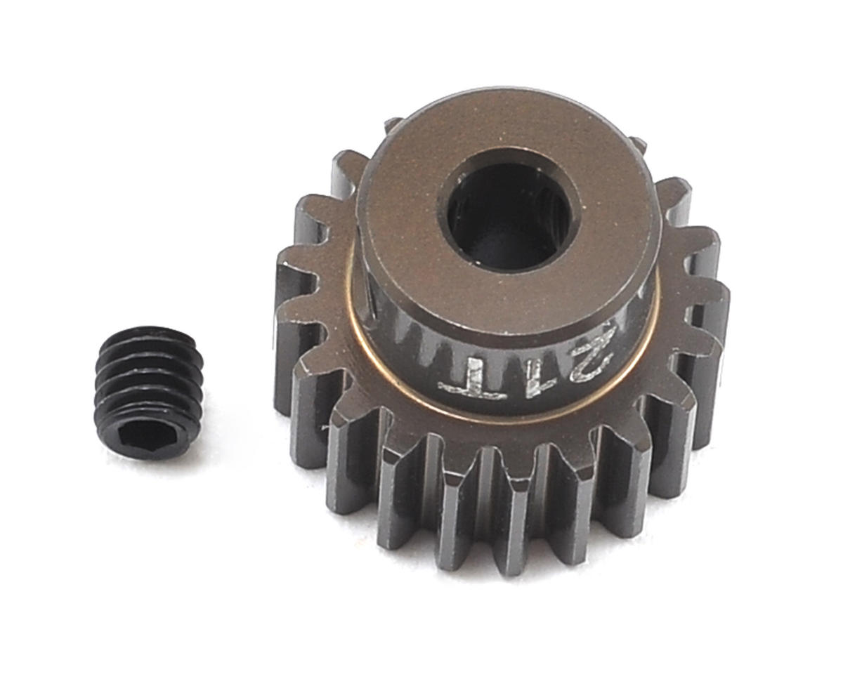 Team Associated Factory Team Aluminum 48P Pinion Gear (3.17mm Bore) (21T)