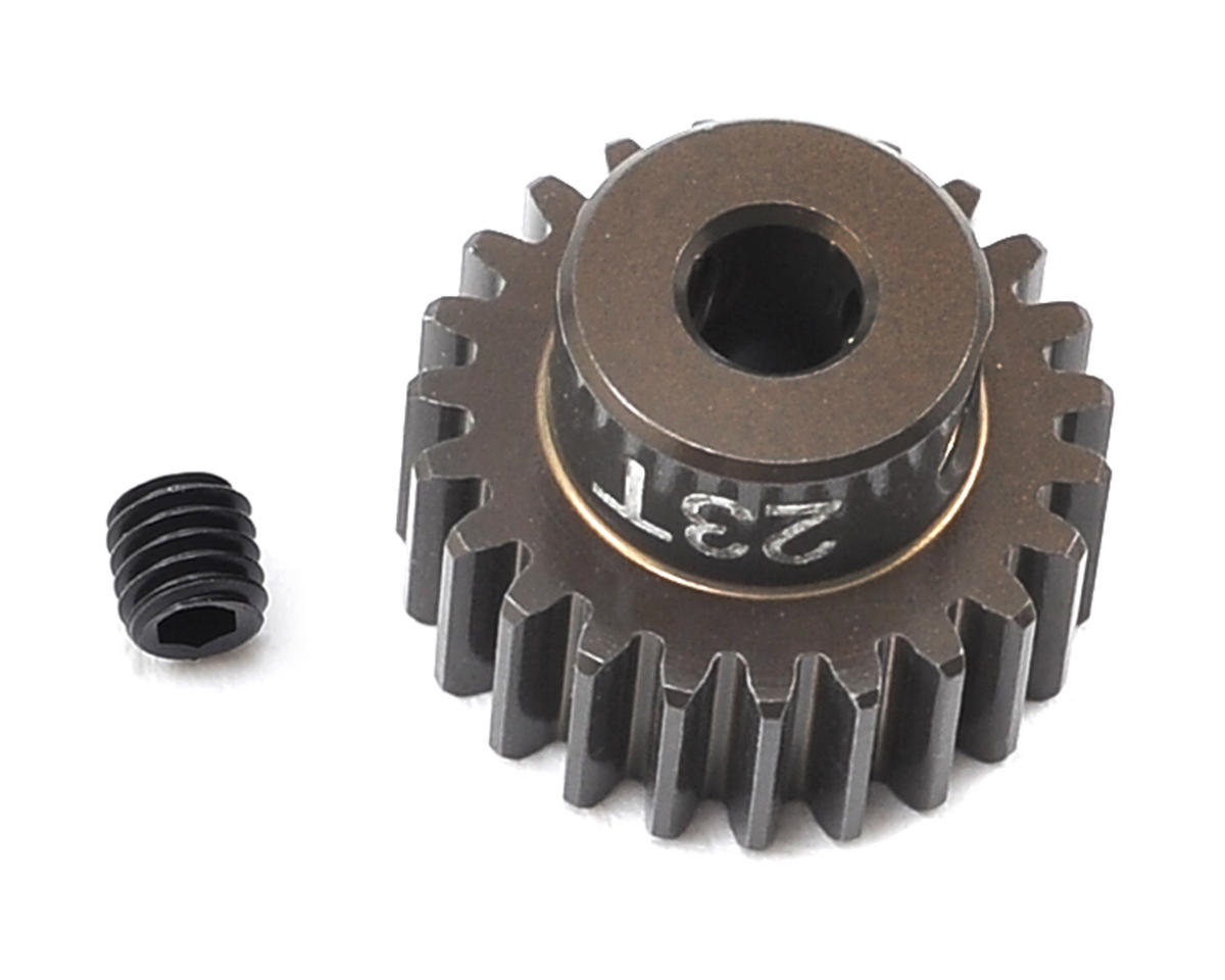 Factory Team Aluminum 48P Pinion Gear (3.17mm Bore) (23T) by Team Associated