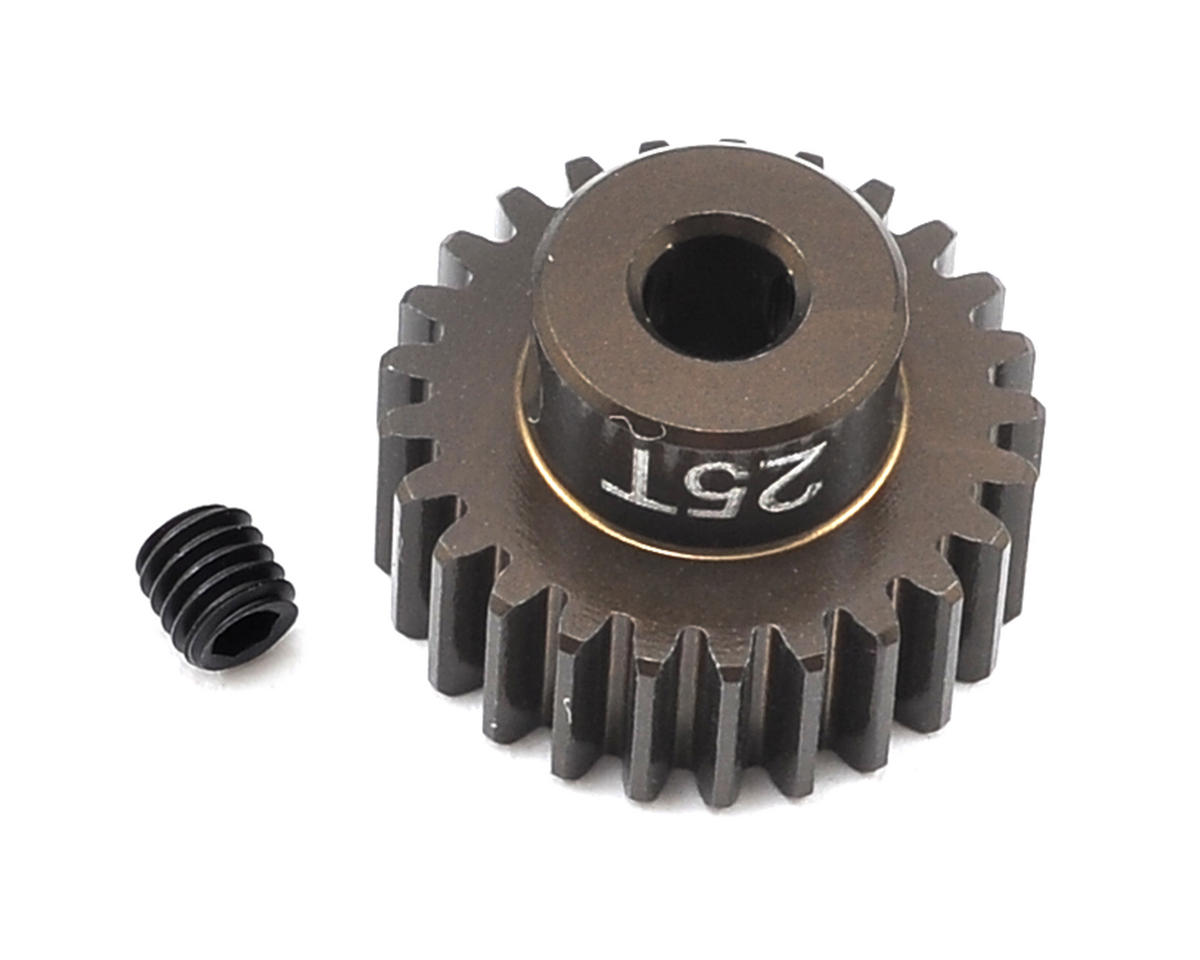 Factory Team Aluminum 48P Pinion Gear (3.17mm Bore) (25T) by Team Associated
