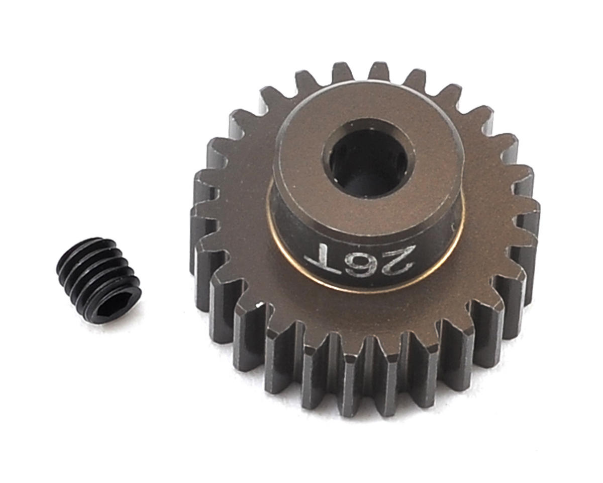 Factory Team Aluminum 48P Pinion Gear (3.17mm Bore) (26T) by Team Associated