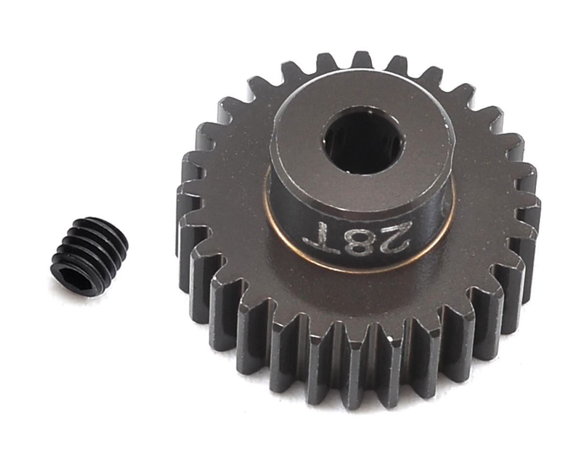 Factory Team Aluminum 48P Pinion Gear (3.17mm Bore) (28T) by Team Associated