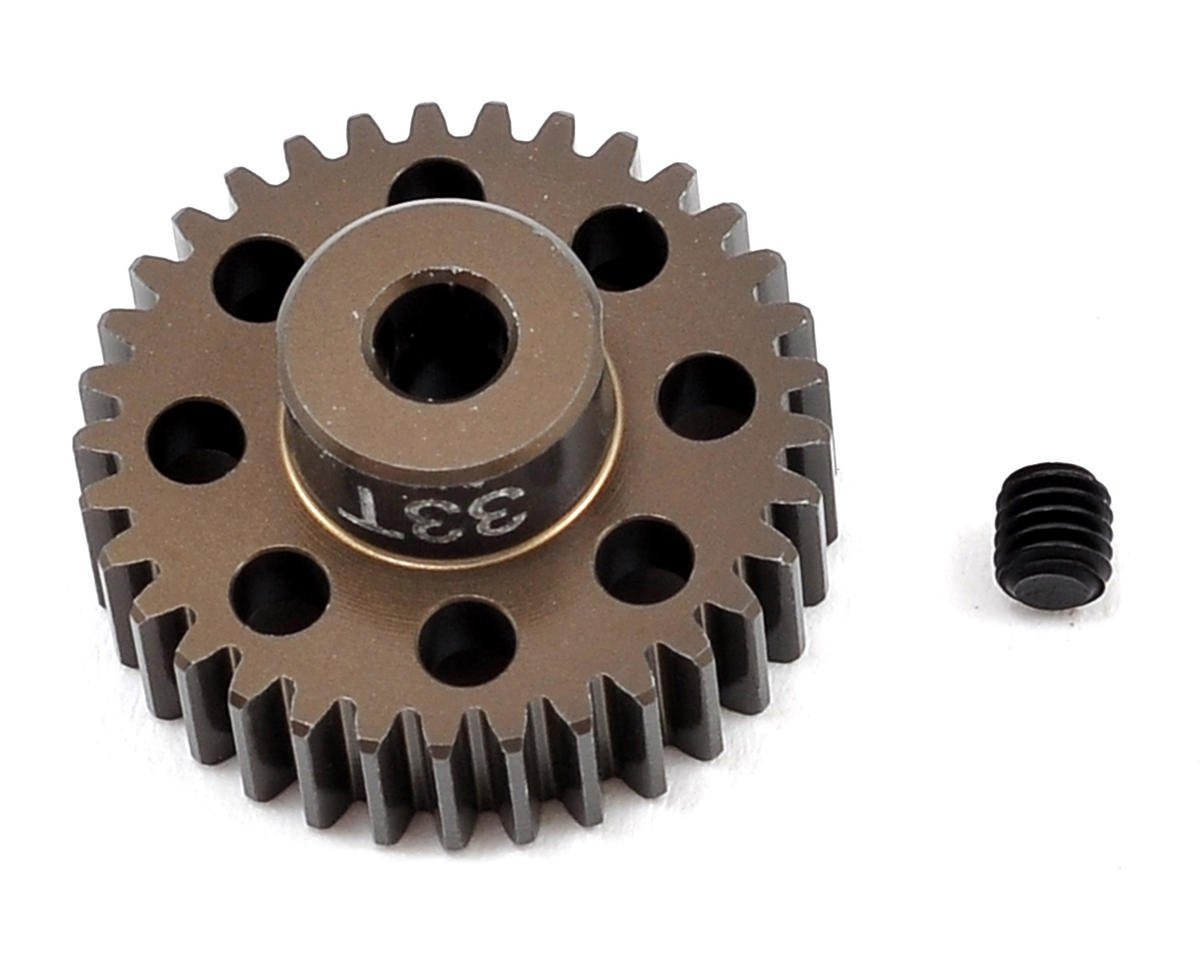 Factory Team Aluminum 48P Pinion Gear (3.17mm Bore) (33T) by Team Associated