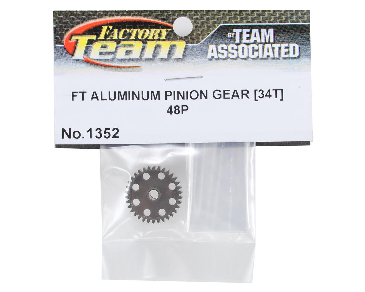 Team Associated Factory Team Aluminum 48P Pinion Gear (3.17mm Bore) (34T)
