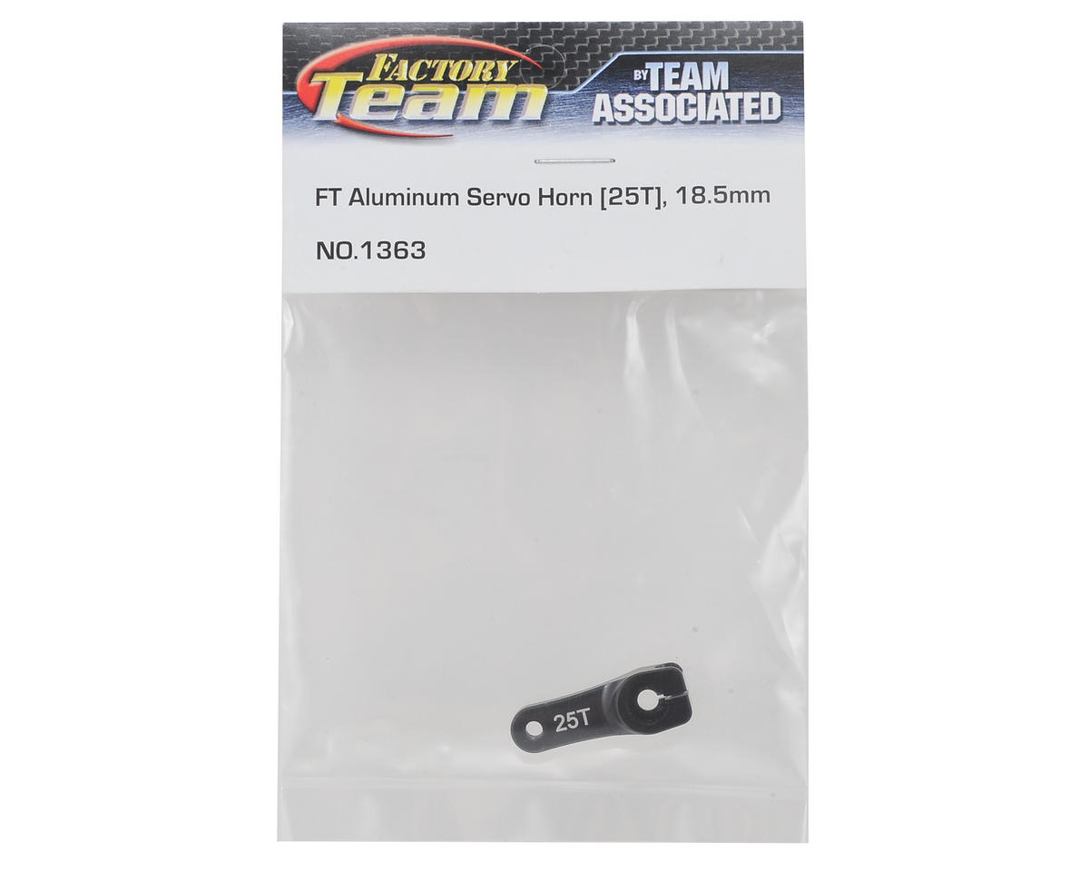 Image 2 for Team Associated Factory Team Aluminum 18.5mm Servo Horn (25T-Futaba/ProTek)