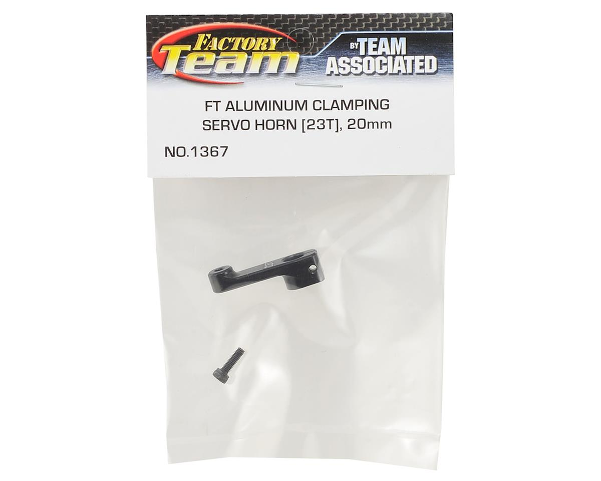 Team Associated 20mm Aluminum Clamping Servo Horn (23T-JR/Airtronics/KO)