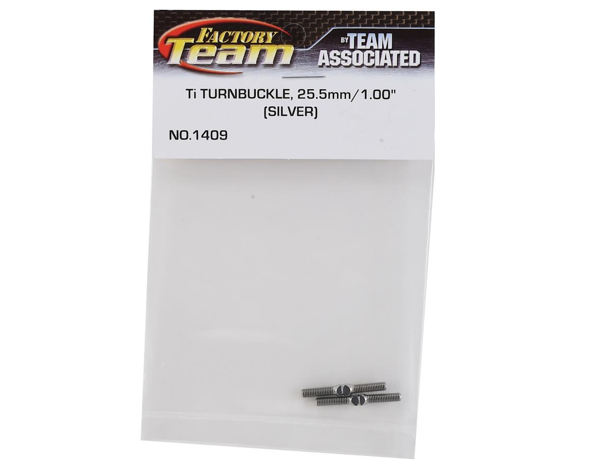 Team Associated Titanium Turnbuckle, 1.00""